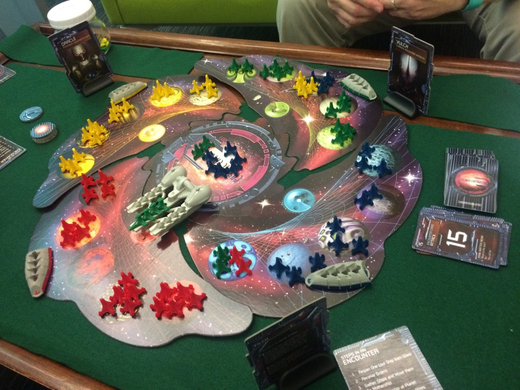 Alien Encounters, 4 player map