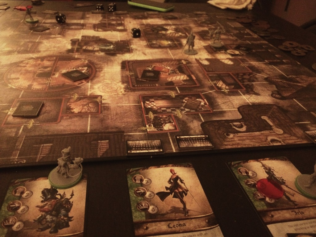 Emptying streets of City of Thieves' last round